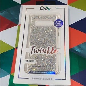 Case-mate twinkle Samsung Galaxy S10 case new